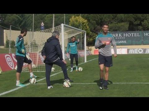 Cristiano Ronaldo Penalty Practice ● Portugal Training Session (HD)
