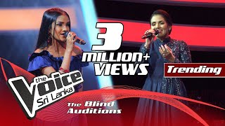 Sathisha Bhatt - Chikni Chameli|Blind Auditions | The Voice Sri Lanka
