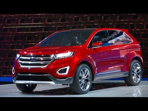 Watch the Ford Edge Concept debut at the LA Auto Show
