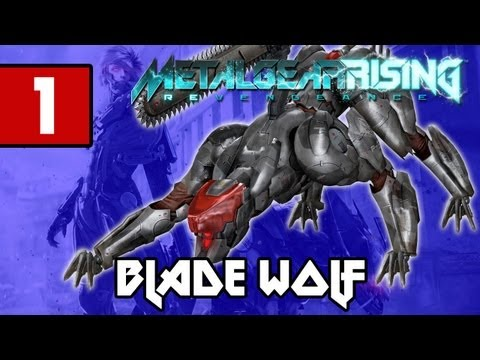 Metal Gear Rising: Revengeance - Blade Wolf PART 1 Playthrough  [DLC] TRUE-HD QUALITY