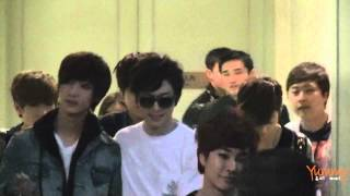 [FanCam] 130421 BOYFRIEND Taiwan FM 2013-Parking Lot