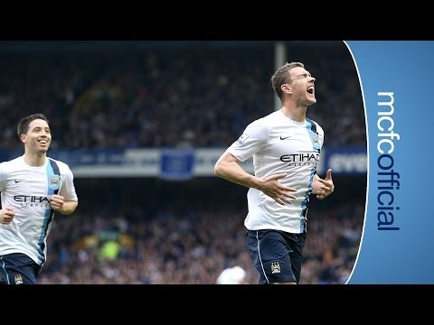 2 GOAL HERO Everton 2-3 City Edin Dzeko post match interview