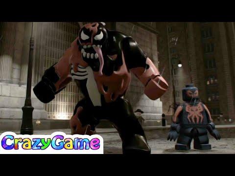 LEGO Marvel Super Heroes 2 Carnom & Spider-Man 2099 (Manhattan Noir Free Roam)