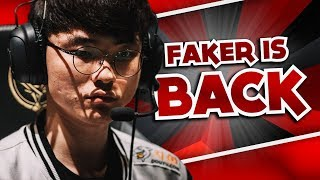 FAKER IS BACK TO CLAP! - WORLDS FUN/FAIL MOMENTS | LEAGUE OF LEGENDS