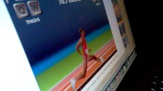 QWOP - 100m using only Q and W