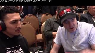 Live from Wilder - Fury 2 -- IBF Lightweight champion  Teofimo Lopez