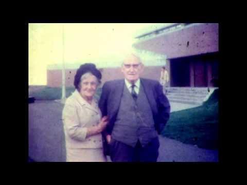 Aunt Minnie MacLeod & 'Daddy' Angus MacDonald, Bob , Bertha, Bernie Beaton