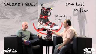 2012 Salomon Quest 8 Boot Review