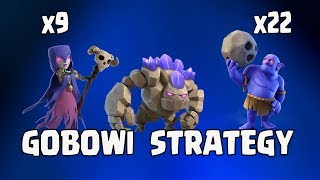 Golem + Witch + Bowler :: TH11  STRONG CLAN WAR ATTACK STRATEGY | GOBOWI  STRATEGY | CLASH OF CLANS