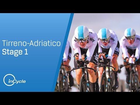 Tirreno-Adriatico 2018: Stage 1 Highlights