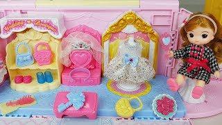 Baby doll dress and bag house toys pororo car play - 토이몽