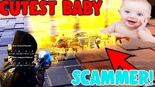 CUTEST Scammer Gets Scammed in Fortnite Save The World *MUST WATCH*