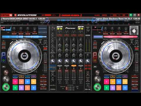 Pioneer DDJ SZ Skin personalizado para virtual dj 7 y 8 free download