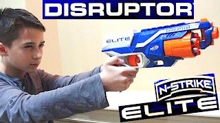 Nerf N-Strike Elite Disruptor with Robert-Andre!