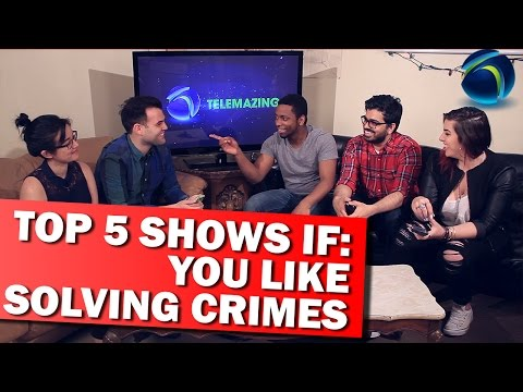TOP 5 SHOWS IF: You Love Solving Crimes | TELEMAZING