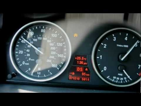 BMW 535i E60 2008 STOCK Acceleration 0-100 km/h 0-60 mp/h 100-200 km/h 60-120 mp/h