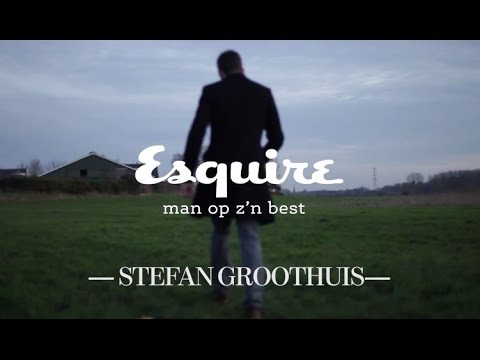 Esquire backstage Stefan Groothuis