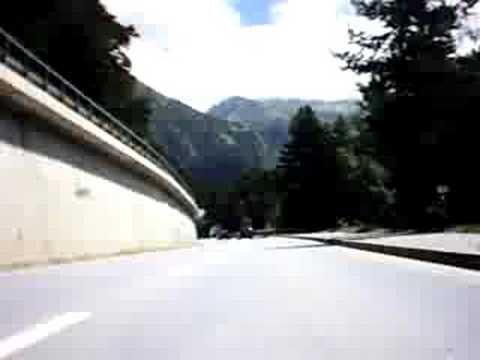 Italian Dolomites 1 from the Guzzi California EV Video
