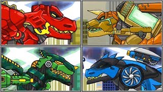 Dino Robot T-Rex Corps - Full Game Play 1080 HD