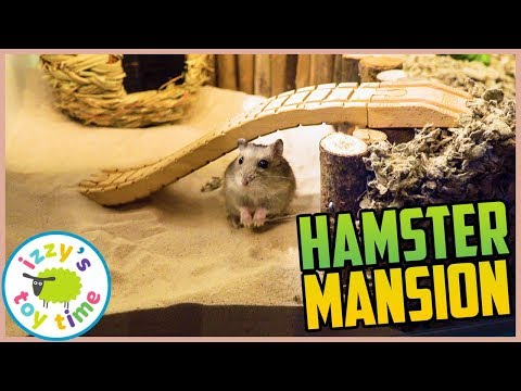 HAPPY THE HAMSTER'S MANSION IS FINISHED!
