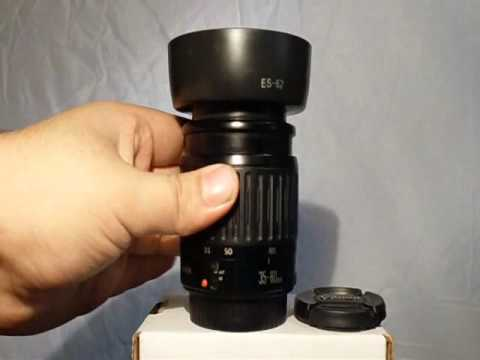 Canon Zoom Lens ef 35-80mm Canon ef 35-80mm F/4-5.6 Great