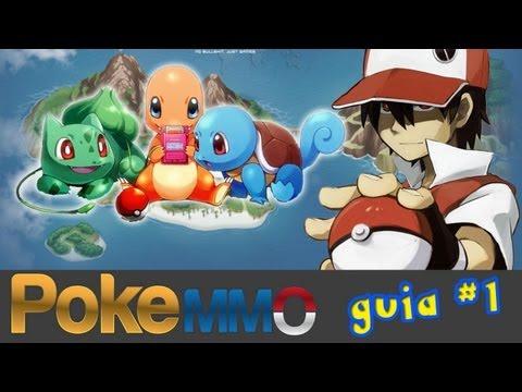 Pokemon Online - PokeMMO - Guia #1 - Inicio - Pueblo Paleta - Ruta 1