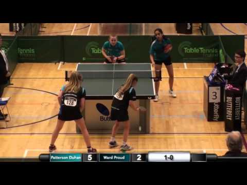 Cadet Girls Doubles Final - 2016 Cadet and Junior National Championships