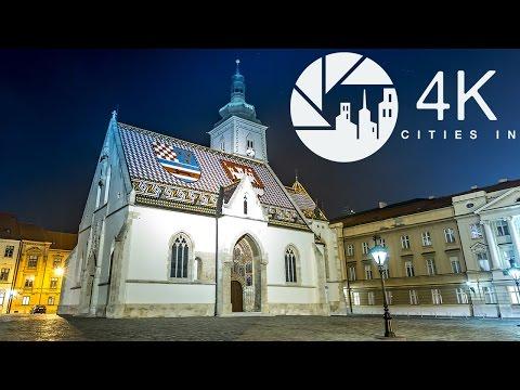 Zagreb in 4K