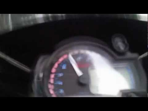MEGELLI 250RR test TOP SPEED