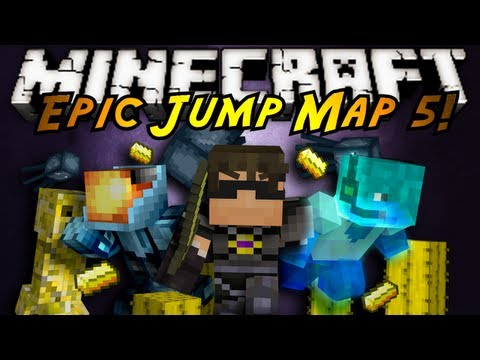 Minecraft: Epic Jump Map Butter Edition Part 2