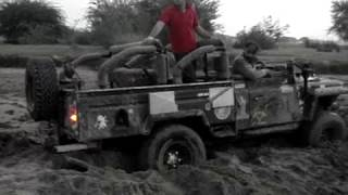 Land Rover Defender L110 | Stuck In Mud