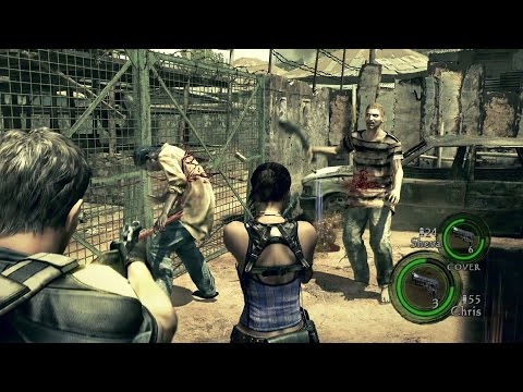 【PS4/XboxOne】『バイオハザード5』プレイ動画4本が公開
