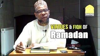 The Virtues & Fiqh of Ramadan – Abu Usamah At-Thahabi