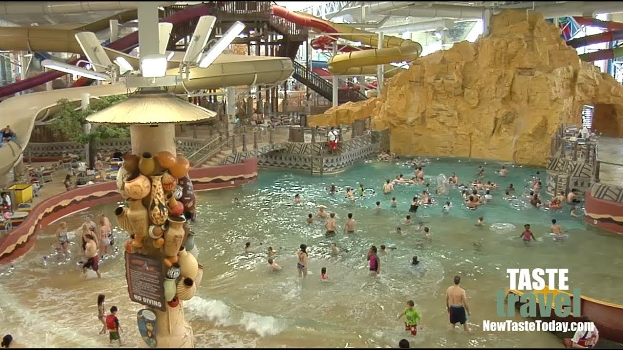 The Largest Indoor Water Park