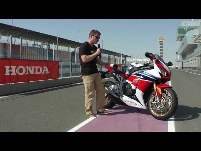 Vid�o Honda CBR 1000 RR SP Fireblade 2014 : Essai d'une p�pite, au pays de l'or noir !