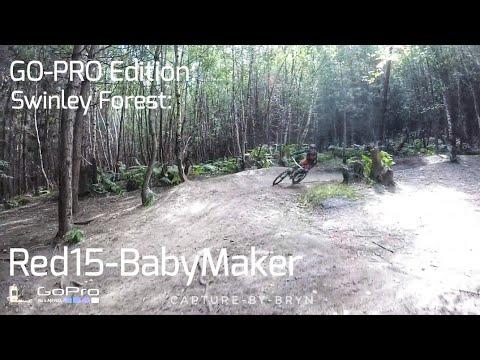 Swinley Forest GoPro hero 5 edition, Red 15 & Baby maker