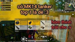 PUBG Mobile - Nhặt Được Flare Gun Khi Đang Bị Dí Sấp Mặt | Có MK14 Auto Tanker Kéo Team Top 1