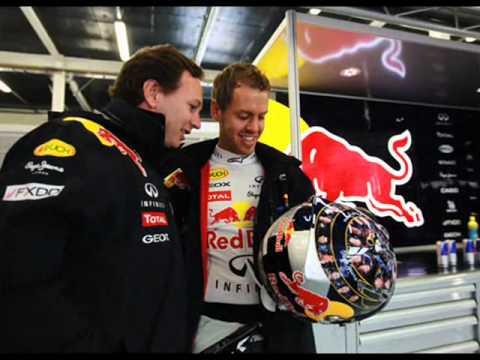 Sebastian Vettel & Christian Horner