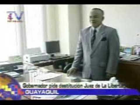 Gobernador pide destitución juez de la libertad