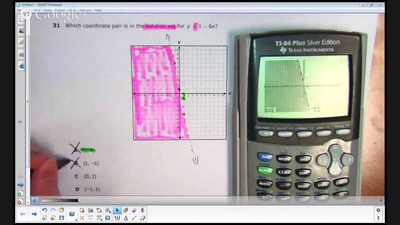 Algebra 1 eoc practice test 2011 texas