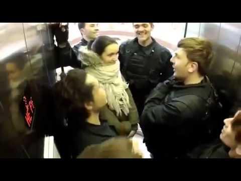 Отмороженный спецназ - Розыгрыш в лифте