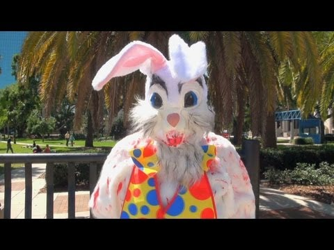 Public Trollin- Bloody Bunny Prank!