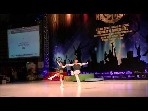Pamela Grezet & Mikael Caffi - World Masters Zielona Gora 2012