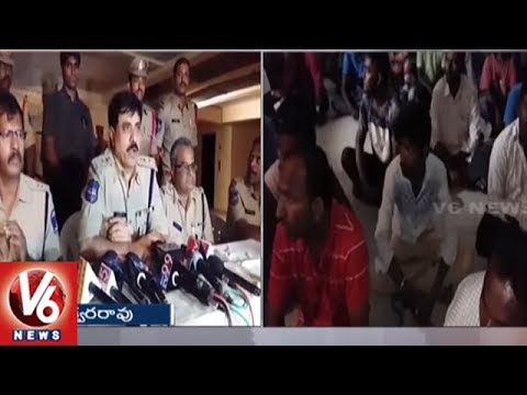 Cordon And Search Operation In Gandipet, Police Arrest 20 Suspects & Seized 39 Vehicles | V6 News