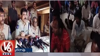 Cordon And Search Operation In Gandipet- Police Arrest 20 Suspects and Seized 39 Vehicles  - netivaarthalu.com