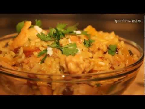 Csirkés piláf (török recept)