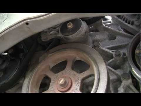 Dodge Caravan 3.3L 3.8L water pump replacement.mp4