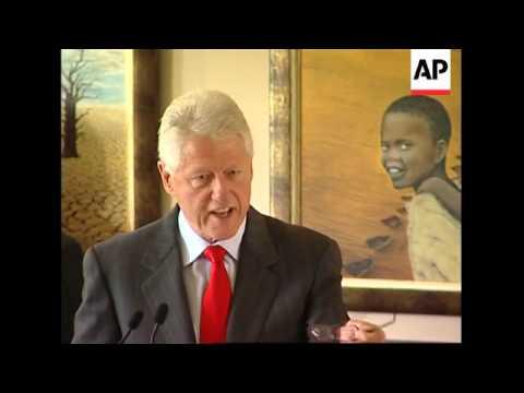 Former president pays tribute to Nelson Mandela