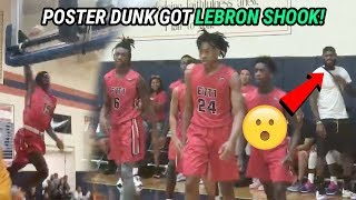 LeBron, D Wade & Bronny Pull Up To INSANE Zaire Wade AAU Game! Buzzer Beater For BEST TEAM In Nation