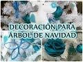 3 DIY - DECORACIÓN PARA EL ÁRBOL DE NAVIDAD